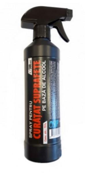 Spray curatare suprafete 500ml, pe baza de alcool 75%