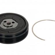 Fulie cu disc compresor AC DENSO 7SEU17C 4pk 100mm- BMW 5 E60/E61, 5 GRAN TURISMO F07, 7 E65/E66/E67 2.2-3.0D 12.01-02.17