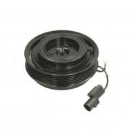 Set bobina, fulie si ambreiaj compresor A/C HALLA HCC VS16 VS18 6PK 119MM