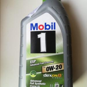 Ulei motor MOBIL 1 ESP 0W20 1L