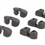 Amortizor vibratii fulie compresor A/C DENSO 5SE12 / 5SL12C / 6SEU / 7SEU16 - set 6 bucati AUDI, MERCEDES, SEAT, SKODA, VOLKSWAGEN