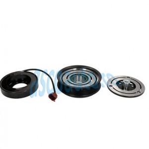 Set bobina, fulie si ambreiaj compresor A/C DENSO 6SAS14C 6PK 110MM - AUDI A4, A4 ALLROAD, A5, Q5 2.0D 11.07-05.17