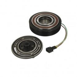 Set bobina, fulie si ambreiaj compresor A/C SANDEN SD7V16 - VW LT 28-35 II, LT 28-46 II, TRANSPORTER IV 2.4D-2.8D 07.90-07.06