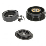 Set bobina, fulie si ambreiaj compresor AC HALLA / HCC HS18 6PK 118mm / Hyunday Kia