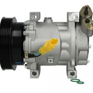 Compresor AC SANDEN SD6V12 Nissan MICRA 3, NOTE TIIDA NV200 JUKE 1.5dCI Nissens