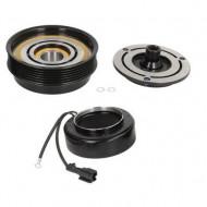 Set bobina, fulie si ambreiaj compresor A/C HALLA / HCC HS18 6PK 118mm / Hyunday Kia