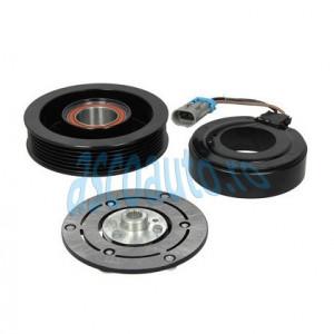 Set bobina, fulie si ambreiaj compresor A/C SANDEN - FIAT CROMA; OPEL SIGNUM, VECTRA C, VECTRA C GTS; SAAB 9-3 1.9D-3.2 04.02-