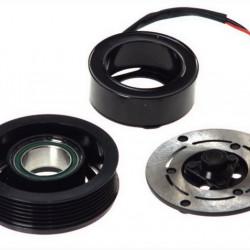 Set bobina, fulie si ambreiaj compresor A/C SANDEN SD6V12 OPEL ASTRA G, COMBO, COMBO TOUR, CORSA C, CORSA D, MERIVA A 1.7D/2.0D/2.2D 02.98-
