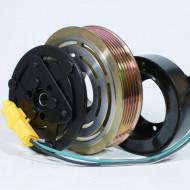 Set bobina, fulie si ambreiaj compresor AC SANDEN SD7V16 / SD6V12 / SD6C12 / SD7C16 6pk 119mm - CITROEN / PEUGEOT