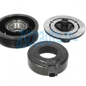 Set bobina, fulie si ambreiaj compresor A/C VISTEON VS16 6pk 110mm - FORD GALAXY, MONDEO IV, S-MAX 1.8D/2.0D/2.2D 05.06-06.15