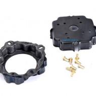 Set disc ambreiaj compresor A/C Denso 6SEU / 7SEU NRF