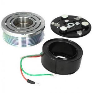 Set bobina, fulie si ambreiaj compresor A/C SANDEN TRS09 7pk 100mm - HONDA CIVIC VIII, CR-V III 1.8/2.0 09.05-