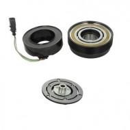 Set bobina, fulie si ambreiaj compresor AC SANDEN SD7V16 6pk 120mm - AUDI, SEAT, SKODA, VOLKSWAGEN, FORD