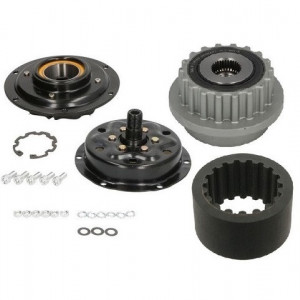 Set fulie compresor AC + curea si fulie alternator VOLKSWAGEN T5 / TOUAREG 2.5TD