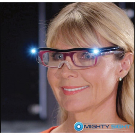 Ochelari reincarcabilicu lupa si Led FOXMAG24® pentru marit 160%Mighty Sight, unisex