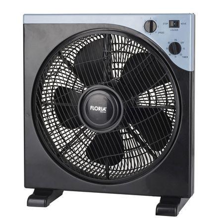Ventilator patrat cu timer 40W