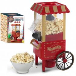 Masina retro de facut floricele Popcorn, temperatura de lucru 60°C - 200°C, putere 1500 W