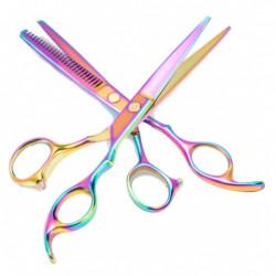 Set foarfece de tuns si filat pentru frizerie FOXMAG24®, salon, marime 6