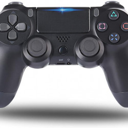 Joystick PS4 DualShock Wireless , compatibil cu PS4/PS4 Slim/PS4 Pro , negru