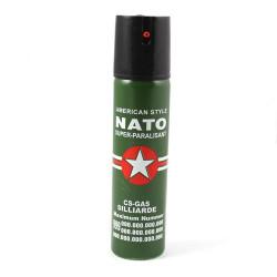 Spray paralizant NATO pentru autoaparare, 60ml, verde, FOXMAG24®