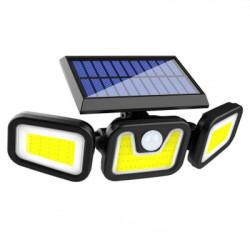 Proiector solar FOXMAG24® triplu Led, 30W