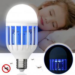 Bec LED antiinsecte cu lampa UV anti-tantari, insecte 600 lm, 60 W