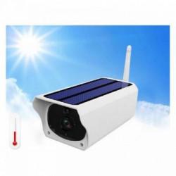 Camera de supraveghere Wifi Solara PRO Full HD FOXMAG24®, impermeabila, fara cabluri, 2MP