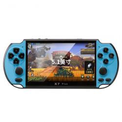 Consola GamePlayer FOXMAG24® X7 Plus, 8 GB, 1000 de jocuri instalate, Negru