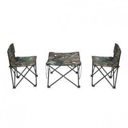 Set masa si scaune pentru camping FOXMAG24®, picnic, pescuit sau plaja