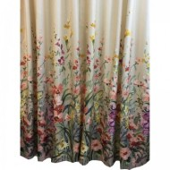 Set 2 draperii, model floral, DRP1924