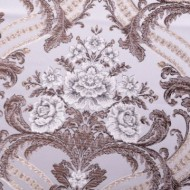 Set 2 draperii, imprimeu floral, DRP1944
