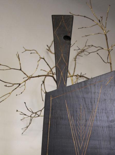 Tocator din lemn 110 cm - 40cm - 2.5cm