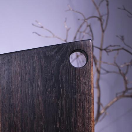 Tocator negru 50 cm