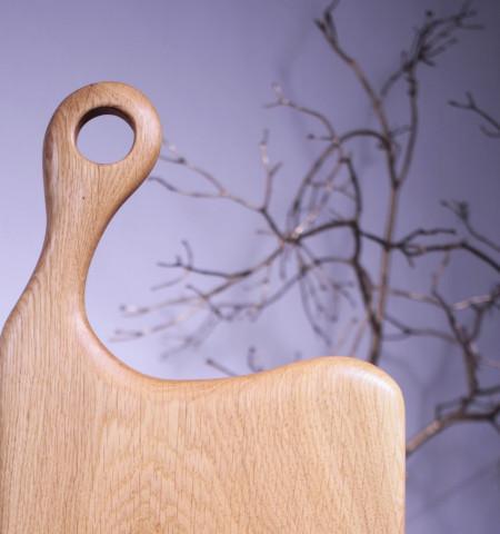 Platou servire din lemn 54cm- 25cm- 2.5 cm