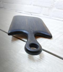 Platou servire din lemn negru 50cm -24cm-2.5 cm