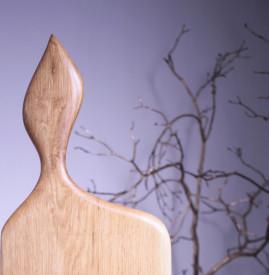 Platou servire din lemn 54 cm- 25 cm- 2.5 cm