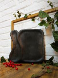 Farfurie -negru 26.5 cm