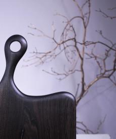 Platou servire negru 55cm-25 cm-2.5 cm