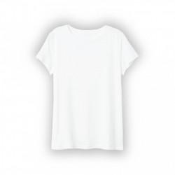 Tricou dama alb simplu