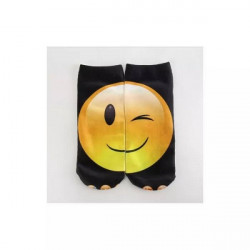 Sosete Glezna 3D Cu Emoticonul Smile & Shoot Eye