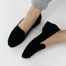 Pantofi dama catifea