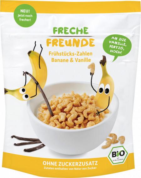 Cereale Pt. Mic Dejun Cu Banane Si Vanilie Bio 125G