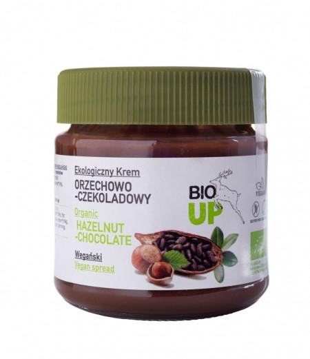 Crema tartinabila de ciocolata cu alune de padure bio 190g