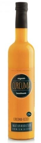 Elixir De Turmeric, Concentrat Din Radacina Proaspata De Curcuma Bio, 500Ml, Retter
