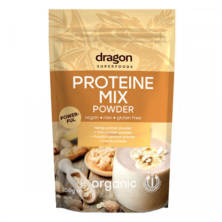 Mix proteic raw eco 200g DS