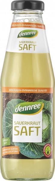 Suc de varza murata fermentata bio 500ml Dennree