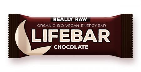 Lifebar baton cu ciocolata raw eco 47g