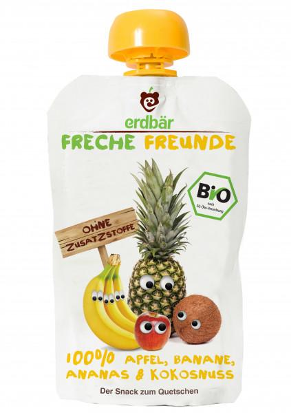 Piure De Mere, Banane, Ananas Si Cocos Bio 100G