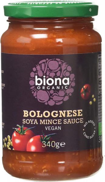 Sos Bolognese cu soia eco 340g Biona