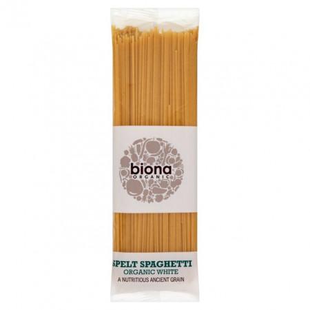 Spaghetii din grau spelta alb eco 500g Biona